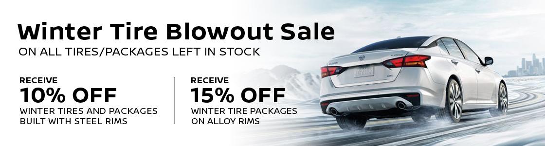 Winter Tire Promo